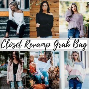 Tops - LAST FEW 4 PIECE CLOSET REVAMP Grab Bag